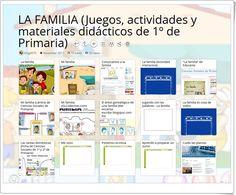 """""""15 Juegos, actividades y materiales sobre LA FAMILIA en 1º de Primaria"""" Bullet Journal, Socialism, Preschool Writing, Preschool Learning, Science Area"""