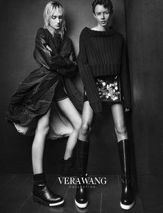 Vera Wang Fall-Winter 2015-2016 Ad Campaign Models: Binx Walton, Josephine Le Tutour Photographer: Patrick Demarchelier Fashion Editor: Charlotte Stockdale