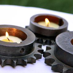 Gear Cog Tea Light Holders by Civilized