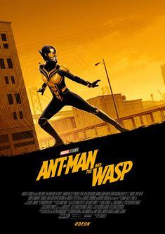 'Ant-Man And The Wasp' mini print by Matt Ferguson Free at UK Odeon Cinema Screenings Marvel Comics, Marvel E Dc, Marvel Heroes, Captain Marvel, Marvel Avengers, Wasp Avengers, Poster Marvel, Marvel Girls, Disney Marvel