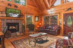 True log cabin~Spotless~View~Location,Location - Entire home/apt