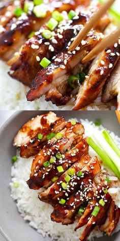 Soy-Glazed Chicken – the best soy-glazed chicken recipe ever. Made with soy sa., Food And Drinks, Soy-Glazed Chicken – the best soy-glazed chicken recipe ever. Made with soy sauce, five spice powder and sugar, this sticky and savory chicken is cr. Baked Ranch Chicken, Glazed Chicken, Sriracha Chicken, Garlic Chicken, Five Spice Chicken, Soy Sauce Chicken, Sticky Chicken, Lime Chicken, Butter Chicken