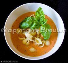 Recept - Tomatsoppa med pasta