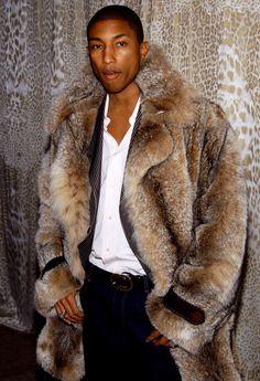 manteau en fourrure homme de luxe