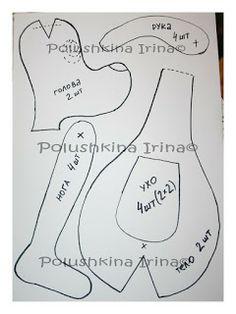 handmade by Irina Polushkina: Свадебная пара песиков / Dogs + выкройка