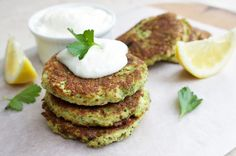 Healthy broccoli + parmesan fritters - Jessica Sepel