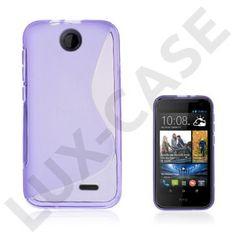 Lagerlöf (Purple) HTC Desire 310 Cover Purple, Pink, Cover, Purple Stuff, Roses