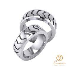 Verighete din aur alb ESV20 Rings For Men, Wedding Rings, Engagement Rings, Jewelry, Enagement Rings, Men Rings, Jewlery, Jewerly, Schmuck