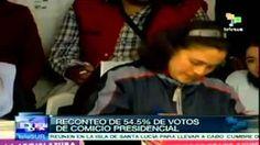 Reconteo de 54.5% de votos de elecciones en México