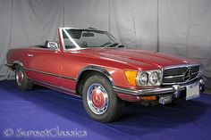 Love these Mercedes convertibles