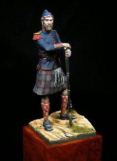 "79th Regiment, New York State Militia,  ca. 1861.  Alternately known as the ""Highlanders""; ""Cameron Rifle Highlanders""; ""Highland Guard"" ; and ""Bannockburn Battalion""."