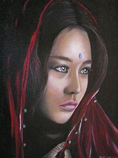 Black Women Art, Female Art, Princess Zelda, Anime, Fictional Characters, Children, Oil On Canvas, Woman Art, Young Children