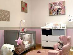 Muebles clásicos para la habitación de bebé