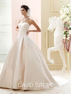 David Tutera Glinda 215260 All Dressed Up Bridal Gown Mon Cheri Chattanooga Tn S Boutique Offers Wedding