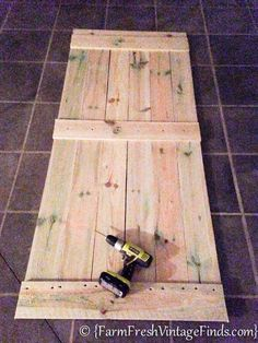 how to build and hang a barn door cheaply, closet, diy, doors, how to…