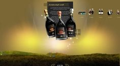 Manicardi Vini Website by Stefano Baldaccini, via Behance