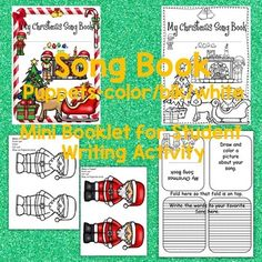 CHRISTMAS *SONGS *POEMS *PRINTABLES *POSTERS ... by SING-PLAY-CREATIVELY | Teachers Pay Teachers