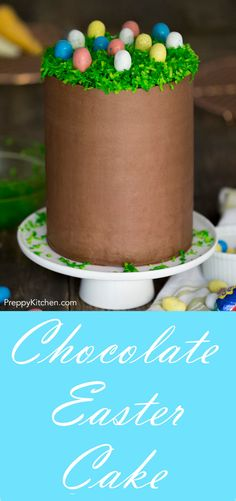 A sky-high easter cake that's too cute to miss! via @preppykitchen