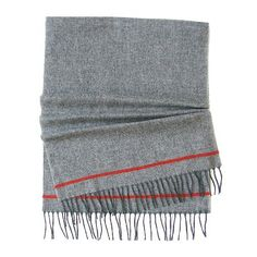 $19, Grey Scarf: Stafford Scarf. Sold by jcpenney. Click for more info: http://lookastic.com/men/shop_items/99227/redirect