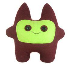 Felix - Felt Monster Plush by PlanetSeymour, $35.00