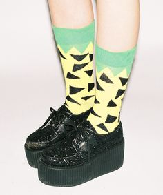 Lazy Oaf | Lazy Oaf Pineapple Socks