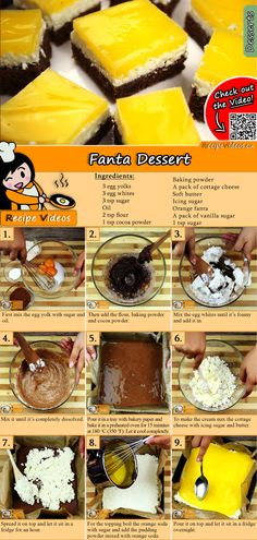 Fanta Dessert recipe with video. Detailed steps on how to prepare this easy and simple Fanta Dessert recipe! Brunch Recipes, Cake Recipes, Dessert Recipes, Sacher, Classic Desserts, Hungarian Recipes, No Bake Cake, Food Hacks, Food Videos