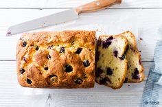 Healthy Recipe: Yogurt Cake with Blueberries