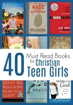 40 MUST READ Books for Christian Teen Girls