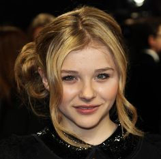 80 And More Updo Hairstyles For 2014: Chloe Moretz Updos  #updos #hairstyles #updohairstyles