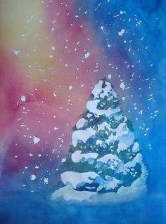 Christmas Eve Painting  - Christmas Eve Fine Art Print