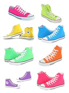 Converse.... I prefer the lows, but in all these colors, a definite yes!!