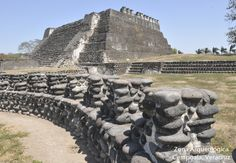 Cempoala or Zempoala is an important Mesoamerican archaeological site located in the state of Veracruz, Mexico.