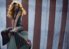 fashion - poetic cinematographic style - circus