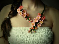 ro)**Like**Pin**Share** ♥ mE @ ♥ Greatest Hits, Handmade Flowers, My Images, Cherry Blossom, Stupid, Random Stuff, Crochet Necklace, Projects To Try, Places To Visit