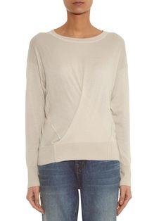 Ben cashmere and silk-blend sweater   Isabel Marant   MATCHESFASHION.COM US
