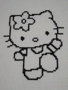 Hello Kitty Cross Stitch | Flickr - Photo Sharing!