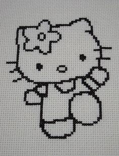 Hello Kitty Cross Stitch by BrianinLR, via Flickr