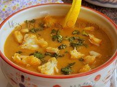 Soupe de poisson au fenouil