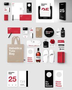 Helvetica Hotel Branding by Albert Son Corporate Identity Design, Brand Identity Design, Branding Design, Logo Design, Graphic Design, Hotel Branding, Business Branding, Whiskey Room, Marketing