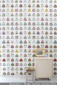 Studio Ditte - robot wallpaper