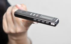 Digital Voice Recorder - Voice Activated Recording, Metal Design