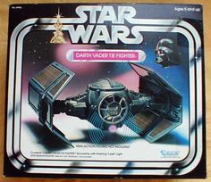 Kenner Star Wars Darth Vader Tie Fighter - ejecting wings and light/laser sound