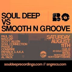 soulTec - (Soul Deep vs Smooth N Groove - Promo mix) by Smooth N Groove Records on SoundCloud Drum N Bass, Soul Connection, Smooth, Deep