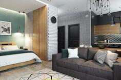 4 adorables apartamentos pequeños para enamorarse