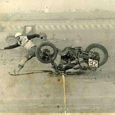 Oakland speedway 1940 #harleydavidson