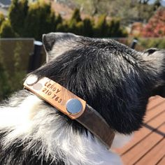 Etsy :: Your place to buy and sell all things handmade Leather Key Holder, Handmade Dog Collars, Leather Collar, Boxer Dogs, Dog Walking, Buy And Sell, Trending Outfits, Unique Jewelry, Vintage