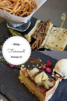 Luxury Dining Fairmont Washington D C