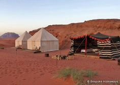"""If your idea of roughing it is staying at a hotel without a spa then you'll love these """"camping"""" ret"""