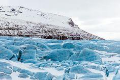 Road trip en Islande en hiver - Glacier Svinafellsjokull