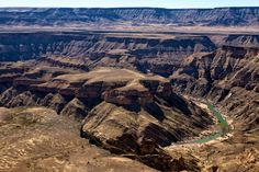 Fish River Canyon - Namibia Africa Travel, Us Travel, My Land, Serenity, Grand Canyon, Traveling, Sky, Fish, River